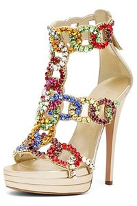 Shoe - gems galore....