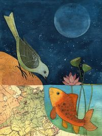 The Fish & The Bird by Geninne