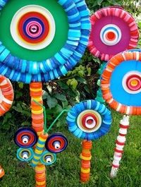 Made from recycled plastic bottle caps - too cute.
