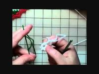 How to Crochet a Pinwheel Coaster Part 1