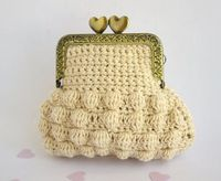 Posts similar to: Pattern Crochet Coin Purse Squeeze Pinch Frame with