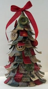 Paper & Button Christmas Tree