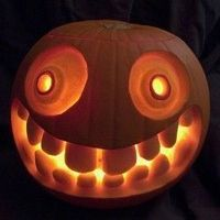 Jack o' lantern inspiration to get you in the Halloween mood.