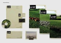 #identity / Silver Fern Farms #stationery