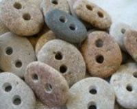 Stone buttons. So cute!