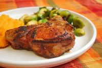 Buttermilk Brined BBQ Pork Chops