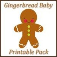 Gingerbread Baby Learning Printables