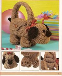 Cute Critter Purse Puppy - also has other animals