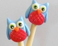 Owl Knitting Needles!!! GASP!
