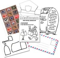 Free Homeschool Printables: Kindergarten Mail Carrier Unit