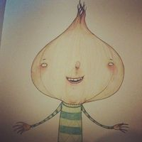 'Oscar the Onion' concept drawing