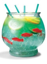 how to make the perfect summer fishbowl drink!