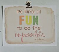 Do the Impossible free printable from