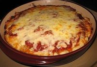 Deep Dish Pizza en