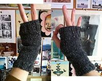 Super Simple Mitts pattern