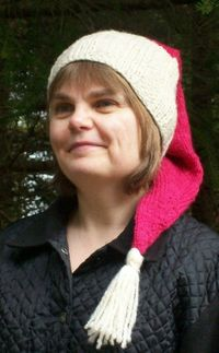 Free knitting pattern for a Santa Hat