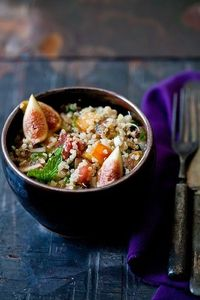 Quinoa and Fig Tabouleh.