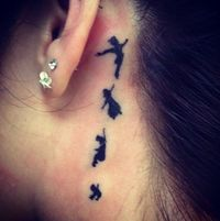 think of a wonderful thought. I will get a peter pan tattoo! :)