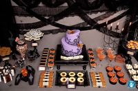 Love this Halloween table!