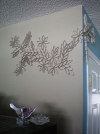 Toilet paper roll decoration