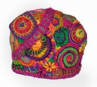 Freeform Tea Cosy for Alice Springs Beanie Festival by Renate Kirkpatrick