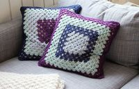 Granny´s square pillows