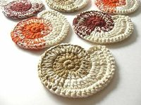 Nautilus Shell Coasters by MariMartin, $32.00