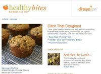 Get guilt-free versions of your favorite recipes. Sign up for Healthy Bites today.