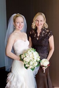For an elegant Mother of the Bride look. Gertrude & Mabel Photography.
