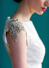 Details - love this amazing cap sleeve!!!
