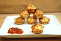 Pepperoni Pizza Puffs...simple ingredients, easy to make!
