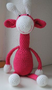 Knuffies: Giraffen with pattern!!!!