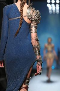 while watching GoT (jean-paul gaultier)