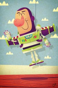 Buzz Lightyear by Matt Kaufenberg Studios