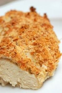 Buttermilk Baked Chicken (with Parmesan and bread crumbs) from http://sugarandspice-celeste.blogspot.com/2009/11