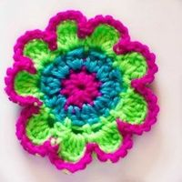 Create a beautiful flower with this easy to follow pattern!