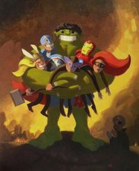 The Avengers by Nathan Stapley