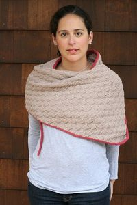 Melanie Wrap by tentenknits, via Flickr