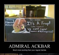 Star Wars Ackbar it's a trap
