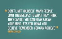 You can be limitless!
