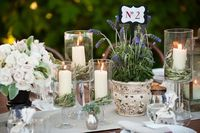 Italian style for wedding table
