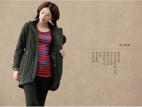 Winter Loose Hooded Cotton Coat