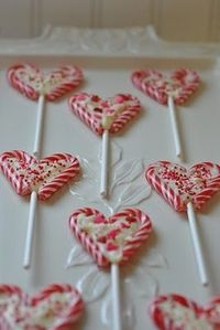 candy cane candies - xmas gift idea!