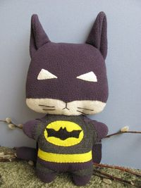 Batcat, the Comic Cat