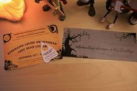 Love this for a halloween party invitation!
