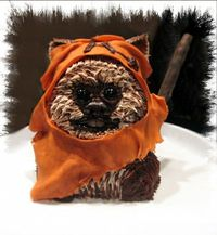 This IS a cake! ... Make ALL of the Ewok cakes!