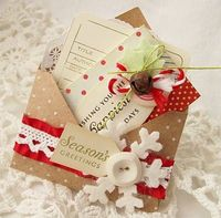 mini xmas envelope like this