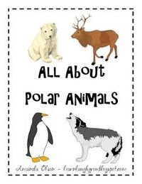 Polar Animals Thinking Map Pack Animals In This Pack