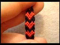 filled heart friendship bracelet