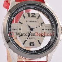 Longines Heritage Red Leather Ladies Watch L3.640.4.56.9 :$82.60
